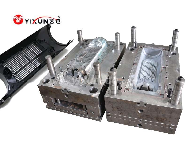 Humidifier front housing plastic injection mold