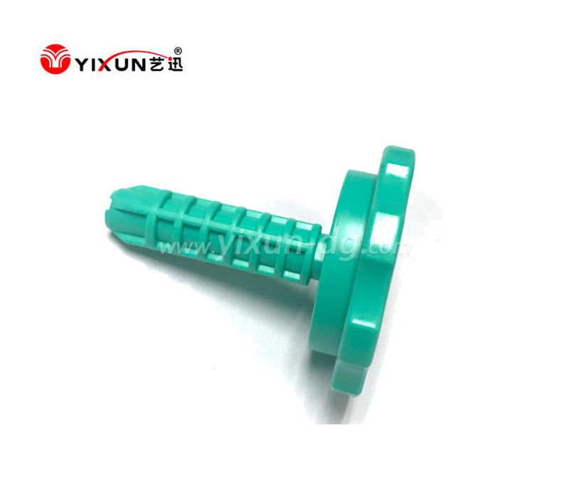 Plastic injection mould for plastic screw