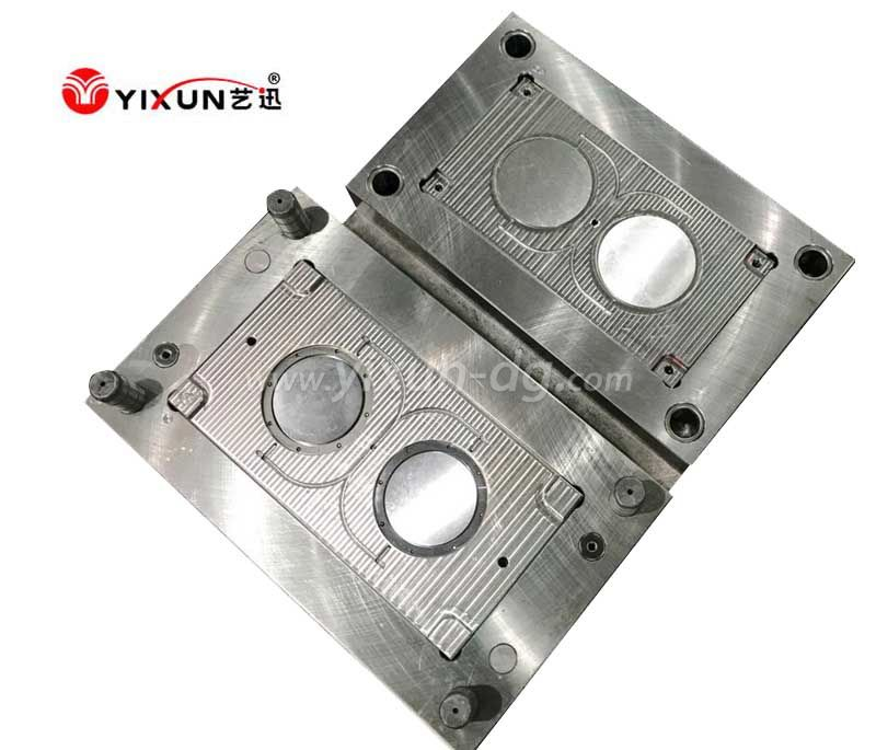 High class 2 cavities injection plastic  molding tooling