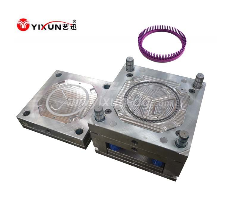 Plastic injection mould for knitting tools wholesale round plastic knitting loom set