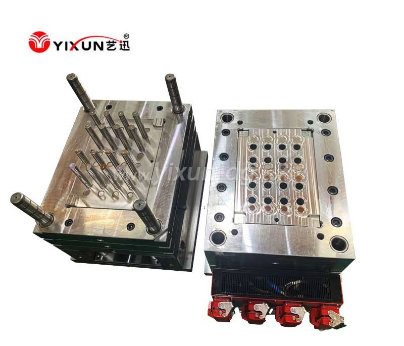 32 cavity pipe mould with PP materail plastic injection molding