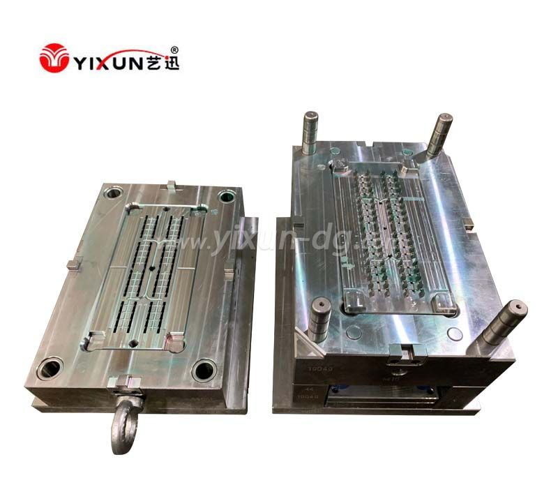 Plastic injection mould for plunger parts