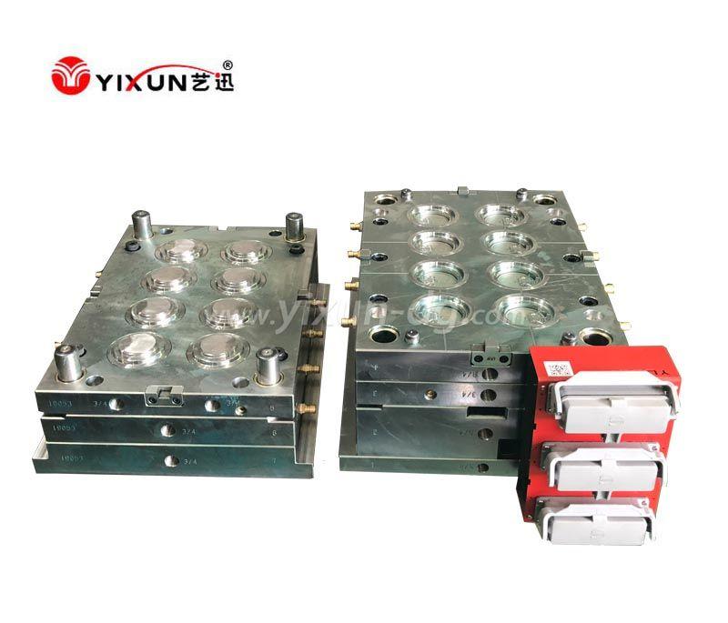 Plastic injection molding for HVAC vent cap