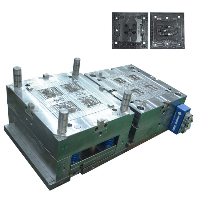 China Plastic Mould For Sale Custom-Fabrication-Services Parts Electrical Switch Sockets
