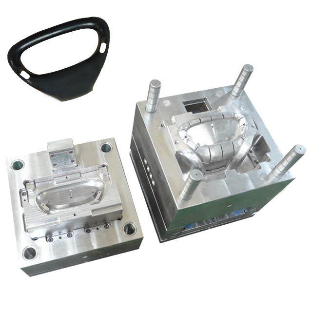 Dongguan Plastic Injection Mold Plastic Product Making Injection Molding Handlebar Plastic Injection Mold Maker