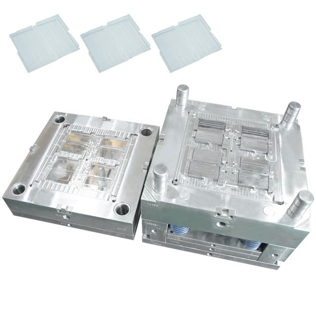 Custom Injection Molding Plastic Injection Moulding Plastic Mould Clear Plastic Transparent Box