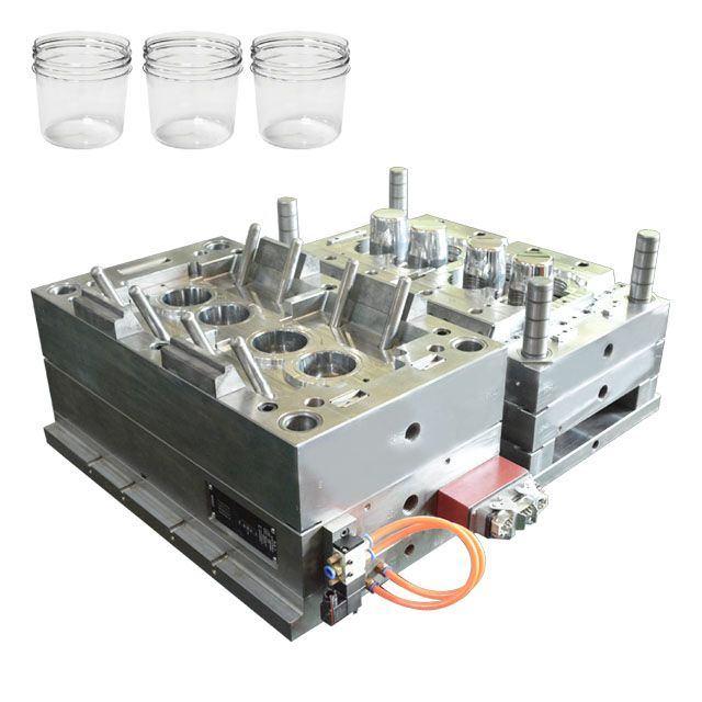 Mold Plastic Mold Injection-Plastic-Mold-Manufacture Transparent Plastic Container