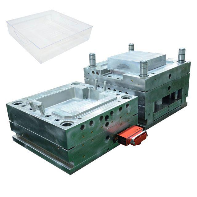 Oem Molding Storage Box Mold Design Transparent Abs Pp Pc Plastics Injection Mould