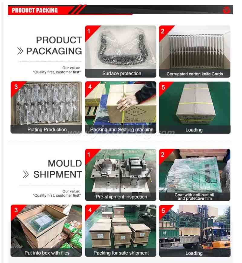 High quality injection plastic mold and mouling