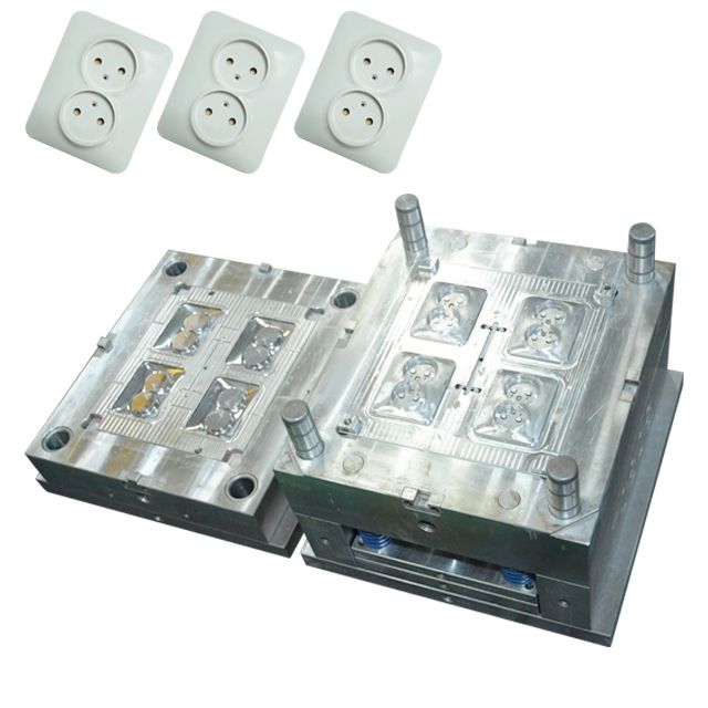 Plastic Products Plastic Injection Moulding Injection Molding Plastic Wall Switch Socket